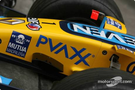 Renault F1 Team nose
