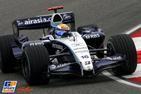 Nico Rosberg in the Williams