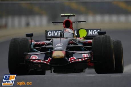Sebastien Vettel in the Scuderia ToroRosso