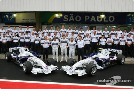 Team picture of BMW Sauber