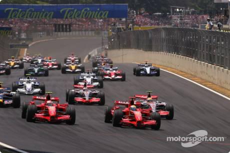 Felipe Massa, Scuderia Ferrari, F2007, Kimi Raikkonen, Scuderia Ferrari,F2007