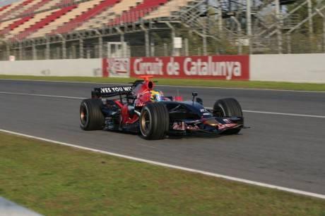 Sebastien Bourdais in the Scuderia ToroRosso