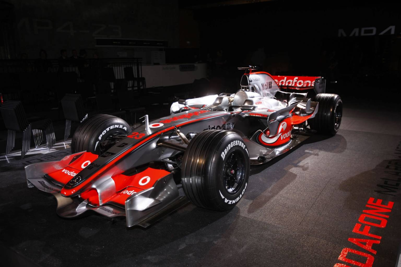Display cars mclaren MP4-23