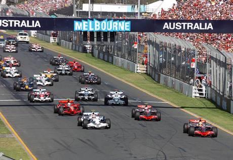 Statistics Australian Grand Prix of2008