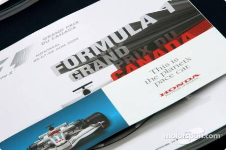 Canadian GP programme