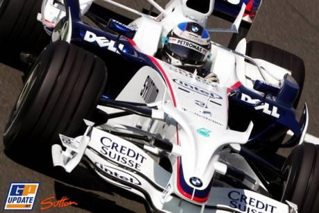 Robert Kubica (BMW Sauber F1 Team)