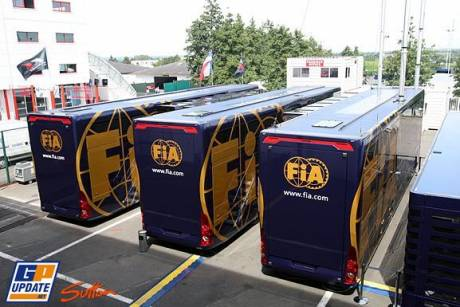 Trailers for the FIA