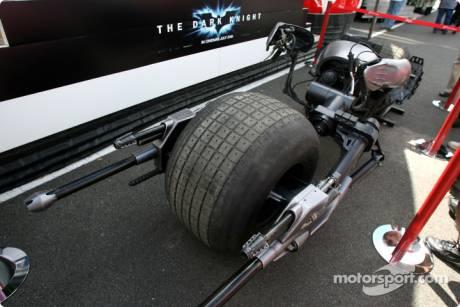 Batman 'The Dark Knight' movie sponsoring Toyota F1 Team, Batpod