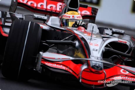 Lewis Hamilton, McLaren Mercedes (MP4-23)
