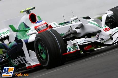 Honda Racing F1 Team (RA108), Rubens Barrichello