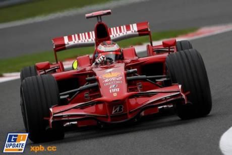 Scuderia Ferrari (F2008), Kimi Raikkonen