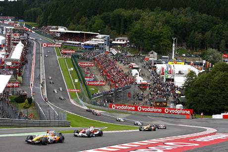Statistics Belgian Grand Prix of 2008