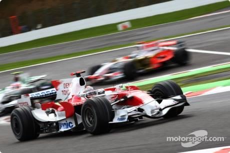Jarno Trulli, Toyota F1 Team (TF108)