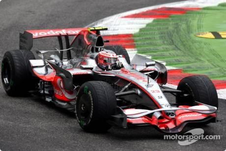 Heikki Kovalainen, McLaren Mercedes (MP4-23)