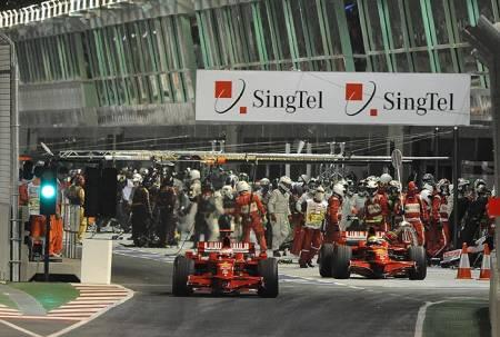 Statistics Singapore Grand Prix of 2008