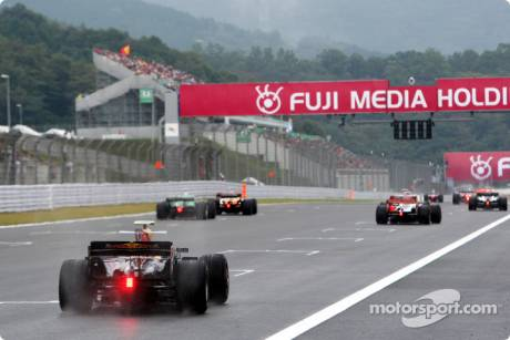 Drivers practice starts