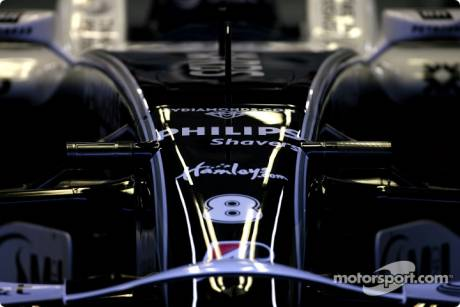 Williams F1 Team, Body Work Detail