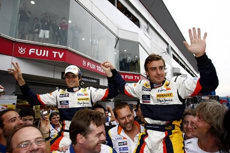 Statistics Japanese Grand Prix of 2008