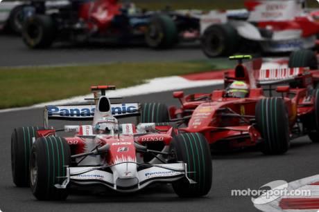 Jarno Trulli, Toyota Racing (TF108)