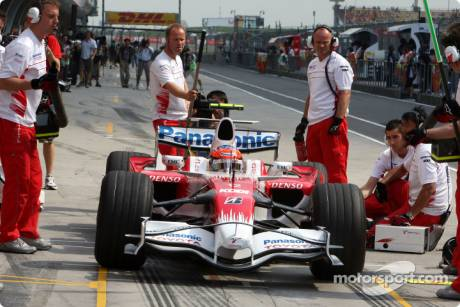 Timo Glock, Toyota F1 Team (TF108)