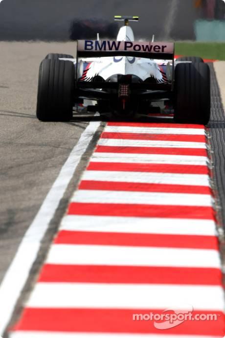Robert Kubica, BMW Sauber F1 Team (F1.08)