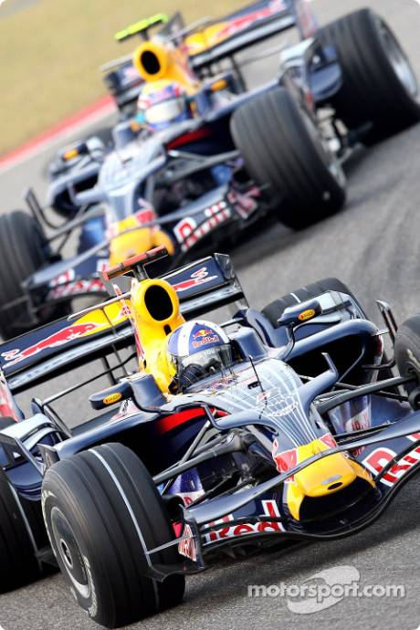 David Coulthard and Mark Webber, Red Bull Racing (RB4)