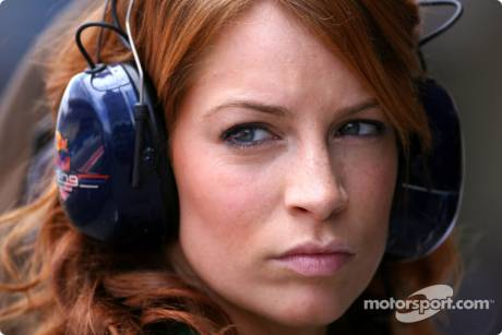 Red Bull Racing girl