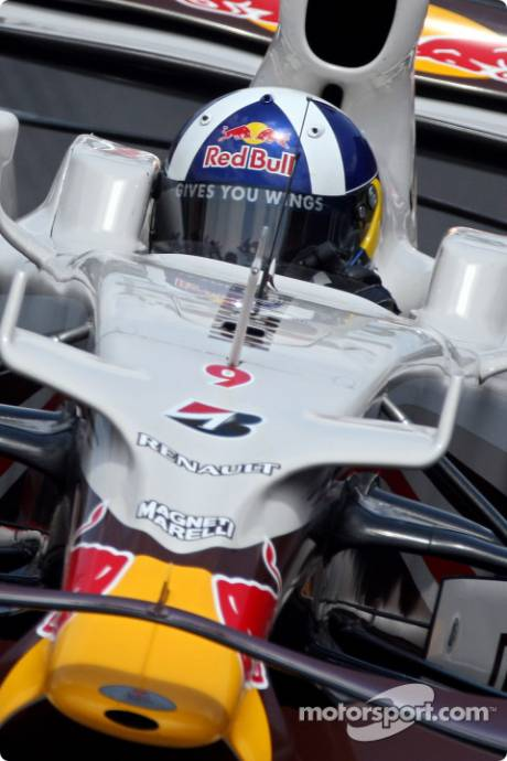 Red Bull Racing, RB4, David Coulthard