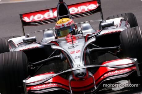 McLaren Mercedes, MP4-23, Lewis Hamilton