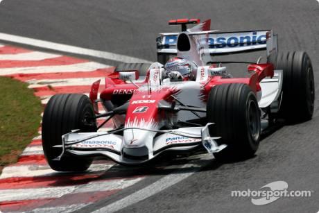 Toyota F1 Team, TF108, Jarno Trulli