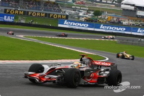 Lewis Hamilton (McLaren Mercedes, MP4-23)