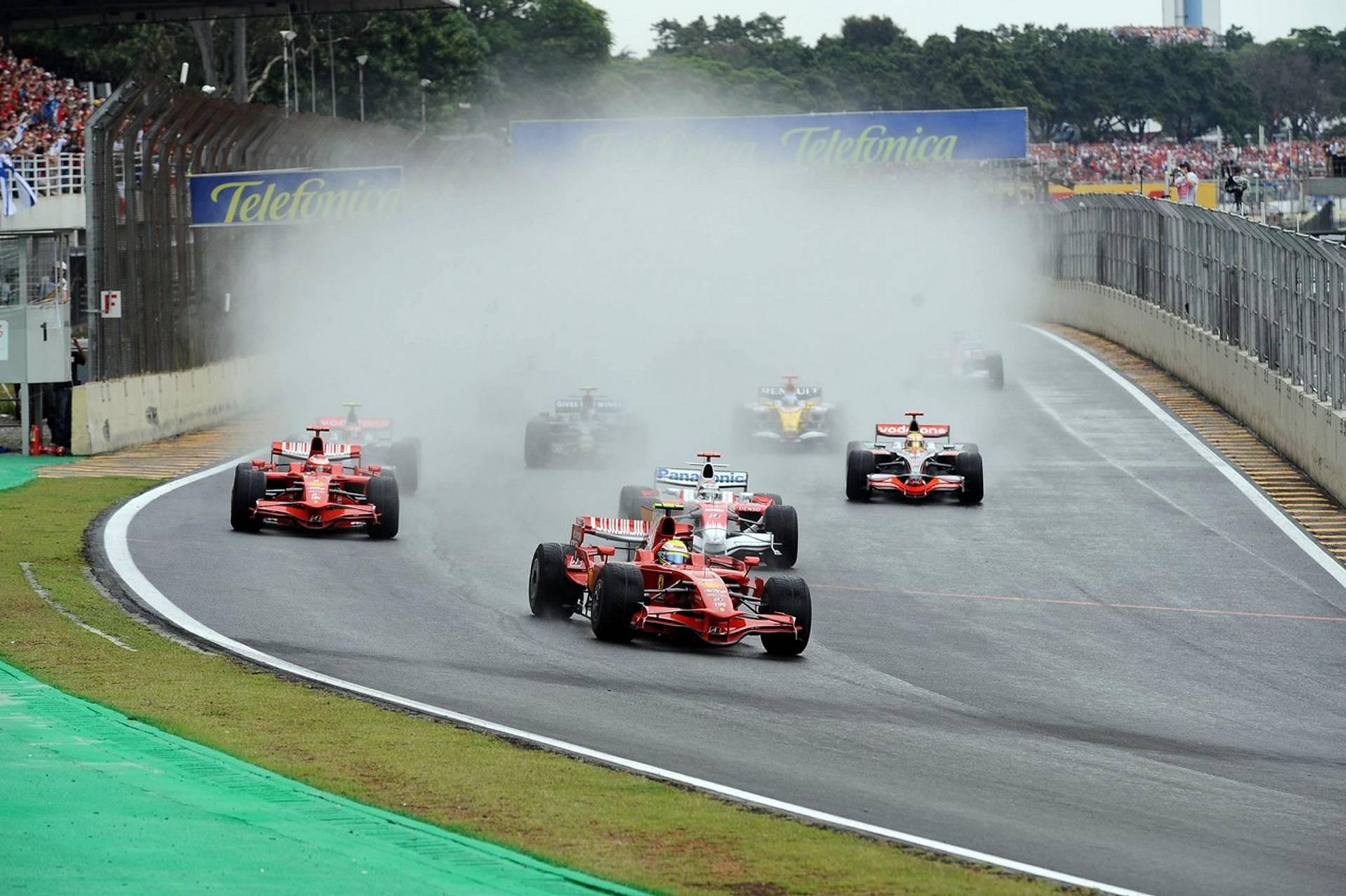 Гонки.МЕ — Ф1  2008 Гран при Бразилии