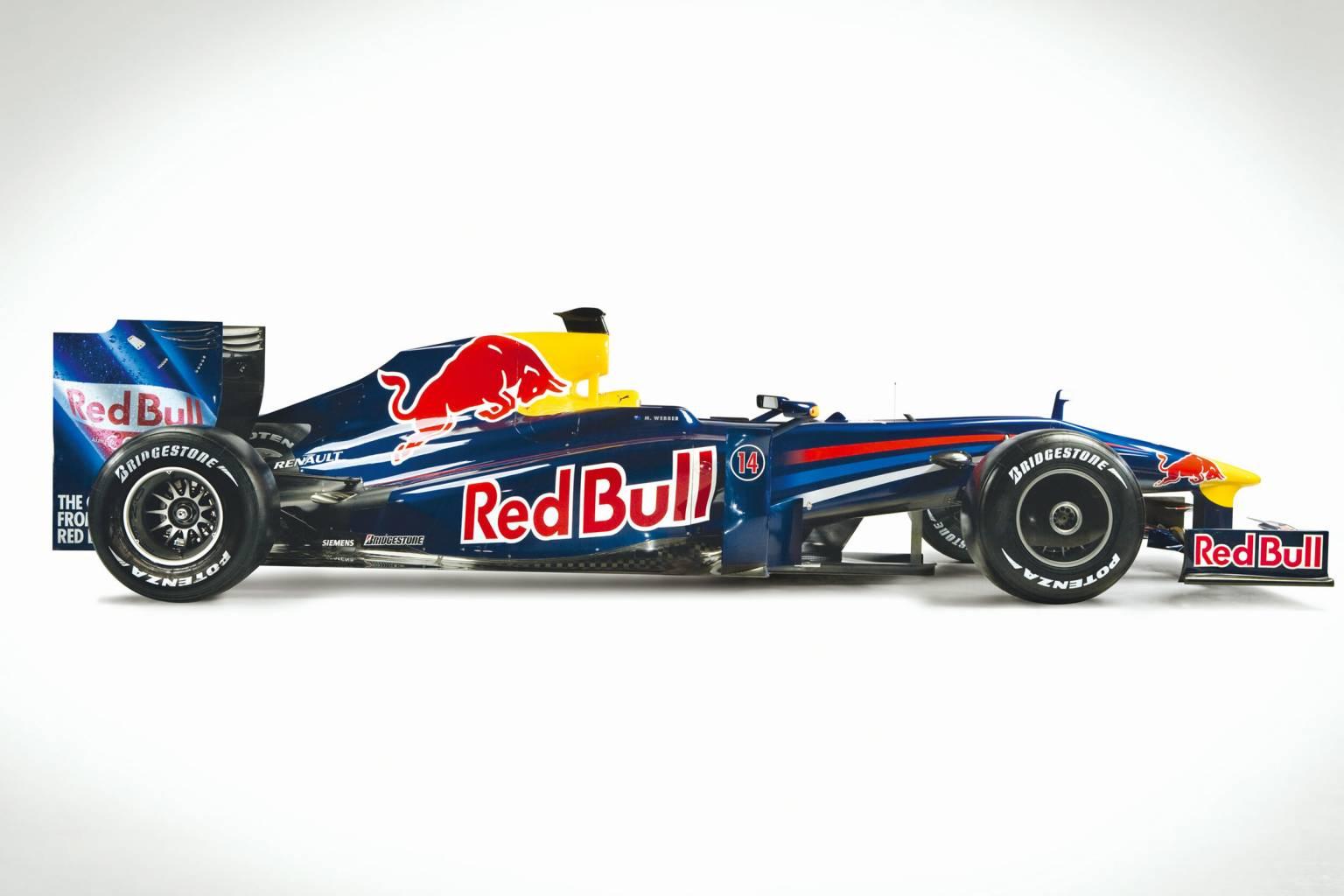 Redbull Rb5 Wallpaper F1 Car 2009: Presentation Red Bull RB5