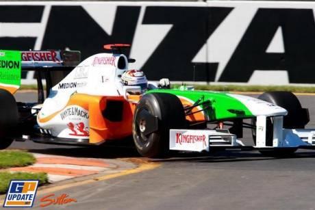 Force India F1, VMJ02, Adrian Sutil