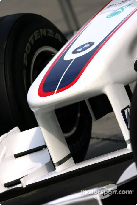 BMW Sauber F1 Team, F1.09, Front Wing Detail