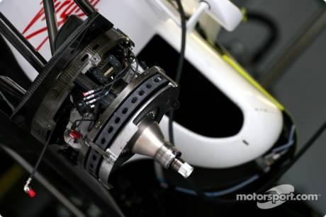 Brawn GP F1 Team Brake System
