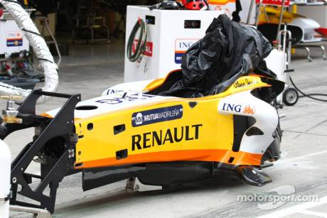 Renault F1 Team, Tub