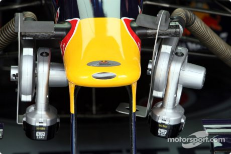 Red Bull Racing, RB5, Air Cooling
