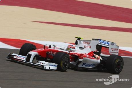 Toyota F1 Team, TF109, Timo Glock