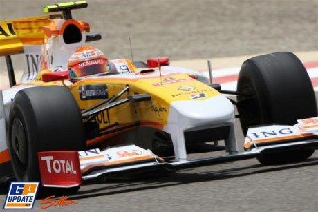 Renault F1 Team, R29, Nelson A. Piquet