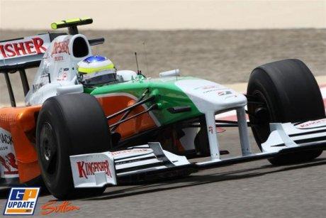 Force India F1 Team, VJM02, Giancarlo Fisichella