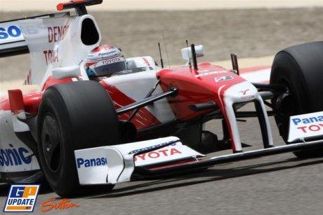 Toyota F1 Team, TF109, Jarno Trulli