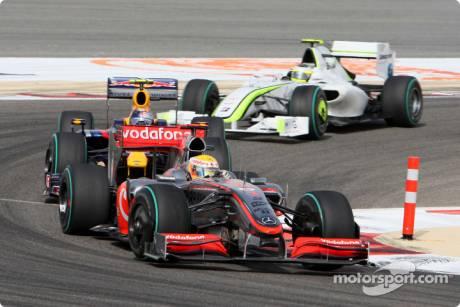 Lewis Hamilton, McLaren Mercedes (MP4-25)