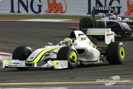 Jenson Button, Brawn GP T1 Team (BGP001)