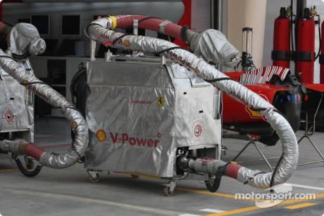 Scuderia Ferrari Fuel Station