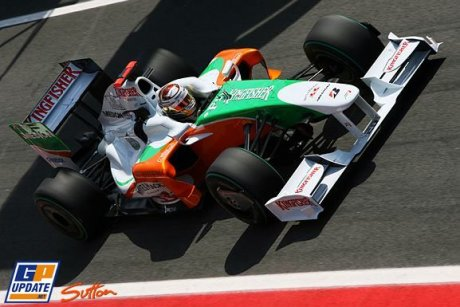Force India F1 Team, VJM02, Adrian Sutil