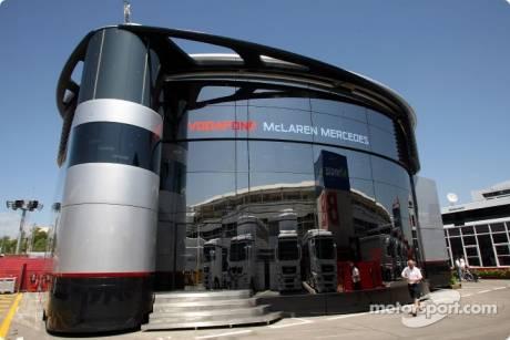 McLaren Mercedes Motorhome