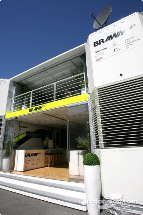 Brawn GP F1 Team Motorhome
