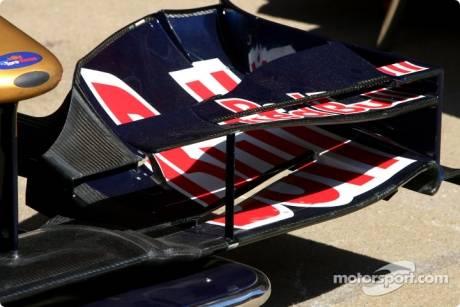 Scuderia Toro Rosso Front Wing Detail
