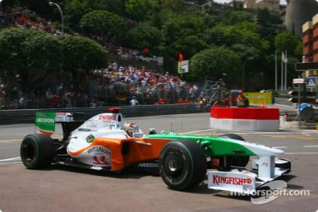 Adrian Sutil, Force India F1 Team, VJM02